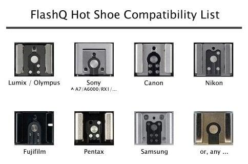 FlashQ Hot Shoe Compatibility