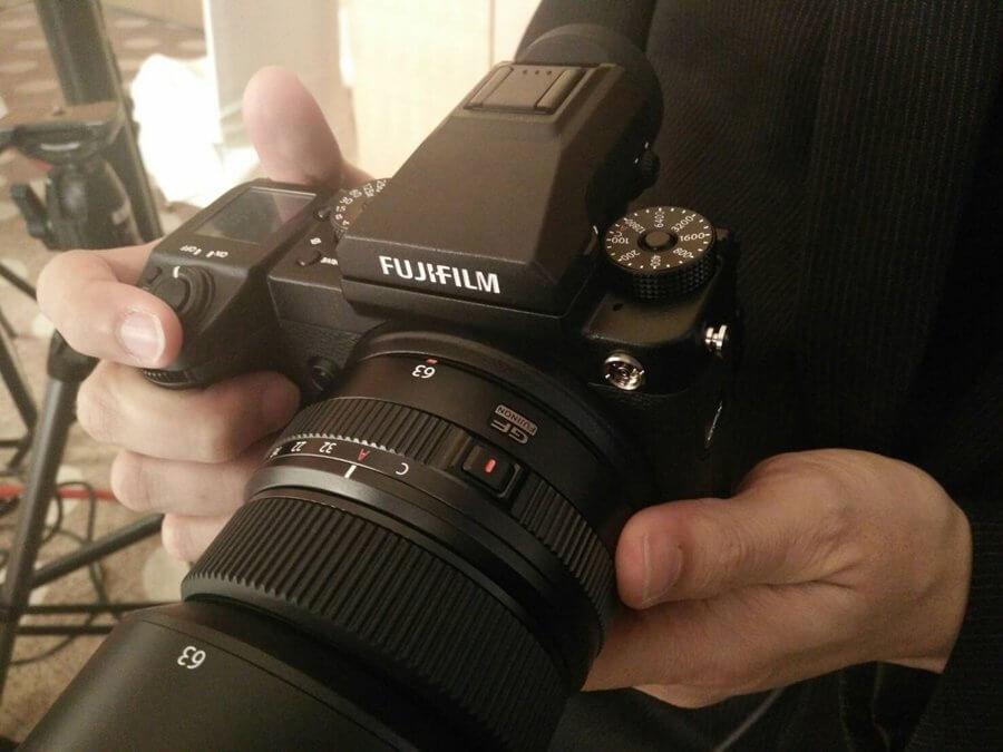 Fuji GFX Zoomcamera 10