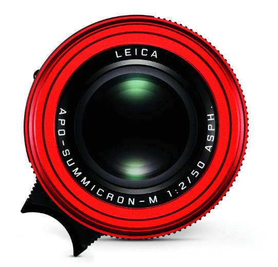 Leica APO Summicron M red zoomcamera