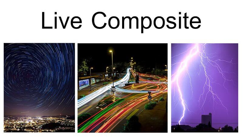 Live composite