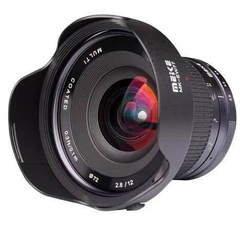 Meike 12mm f2 8 wide angle lens for mirrorless cameras 22