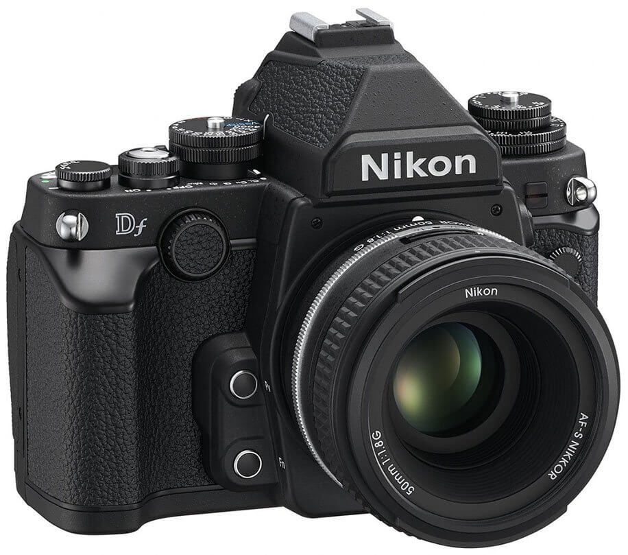 Nikon Df black left