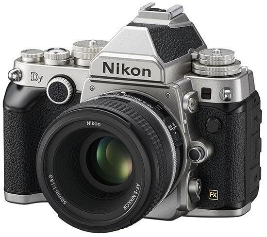 Nikon Df kit silver