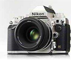 Nikon Df silver camera