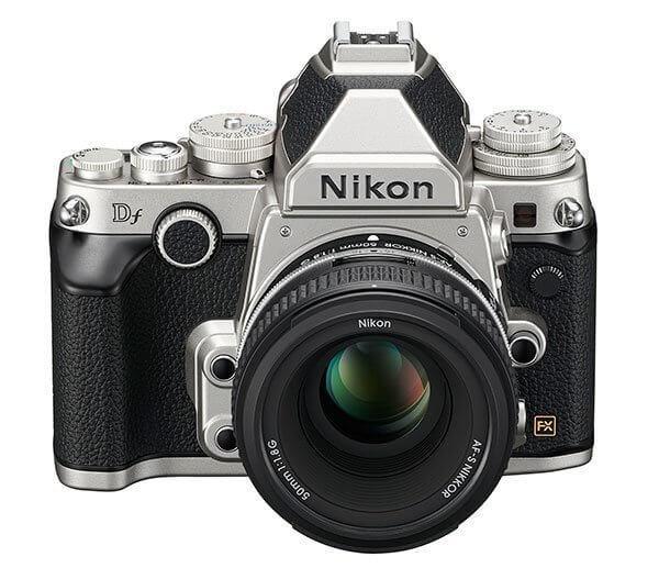 Nikon Df silver front
