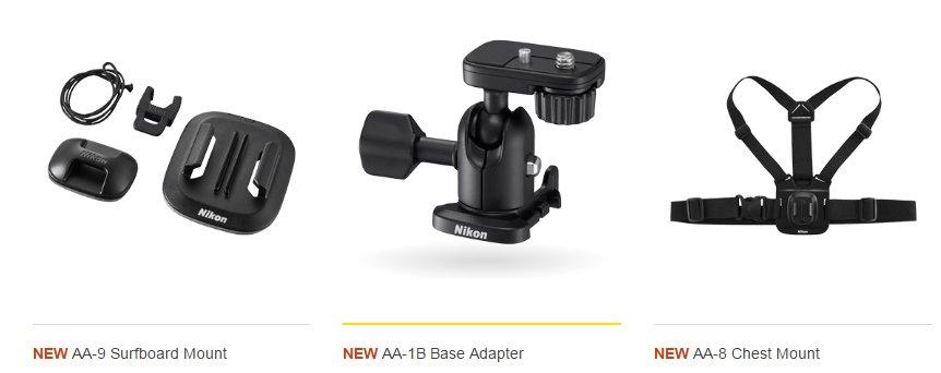 Nikon Key Mission 170 Accessories 3