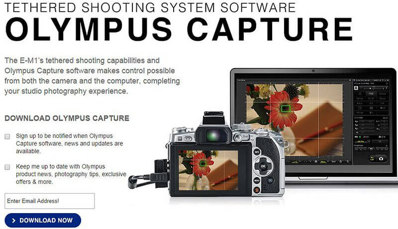 Olympus Capture available 800