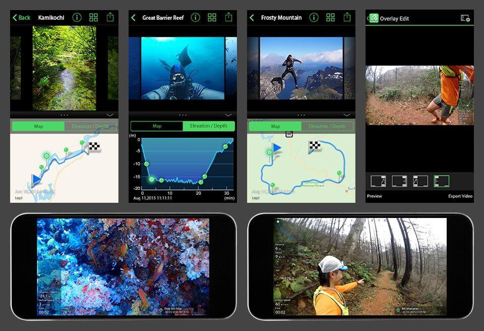 Olympus TG Tracker Field Sensor System