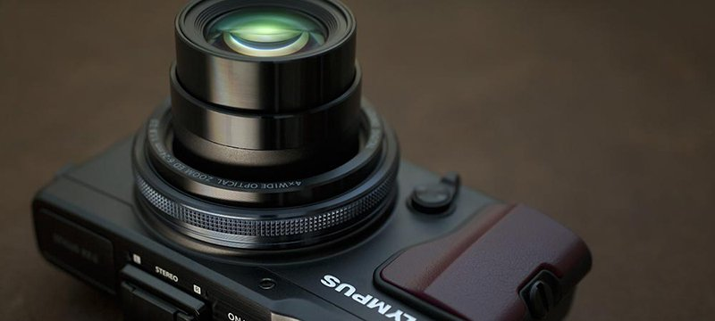 Olympus XZ 2 lens