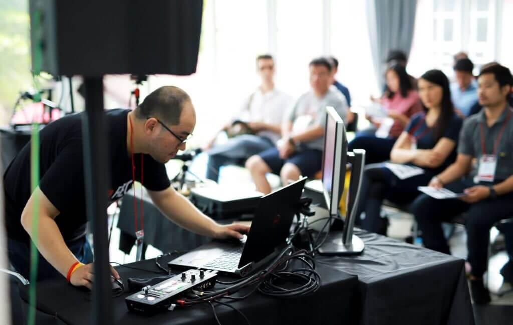 Panasonic Live workshop 91