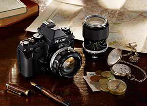 Retro Nikon Df camera
