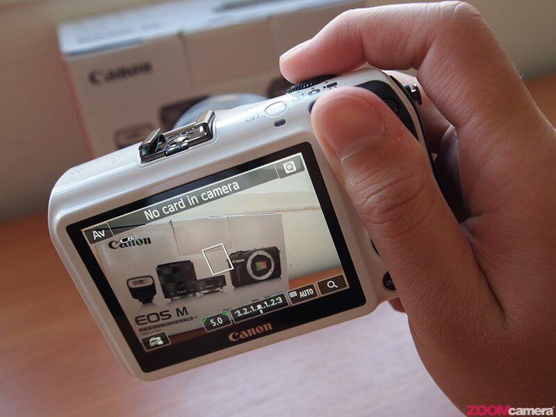 Review Canon EOS M Image 38