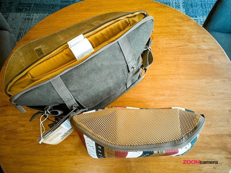 Review NG A2140 Camera Bag Zoomcamera 10