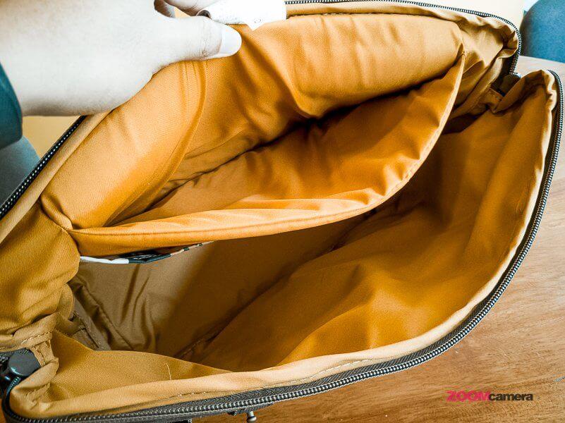 Review NG A2140 Camera Bag Zoomcamera 11
