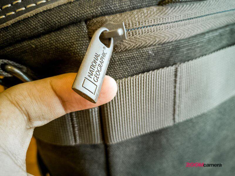 Review NG A2140 Camera Bag Zoomcamera 12