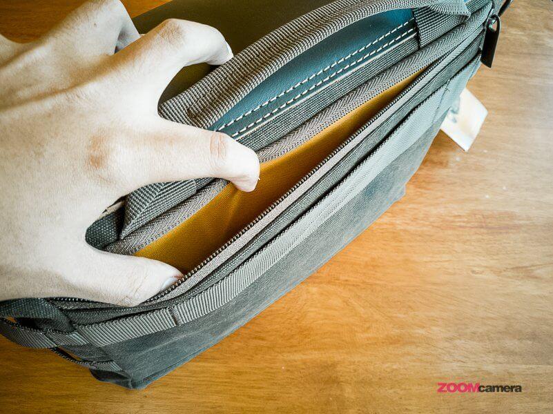 Review NG A2140 Camera Bag Zoomcamera 13