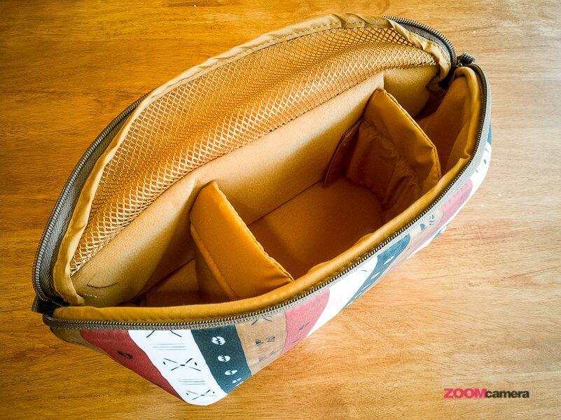 Review NG A2140 Camera Bag Zoomcamera 14