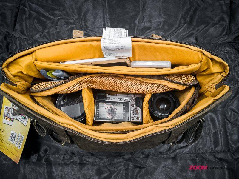 Review NG A2140 Camera Bag Zoomcamera 17