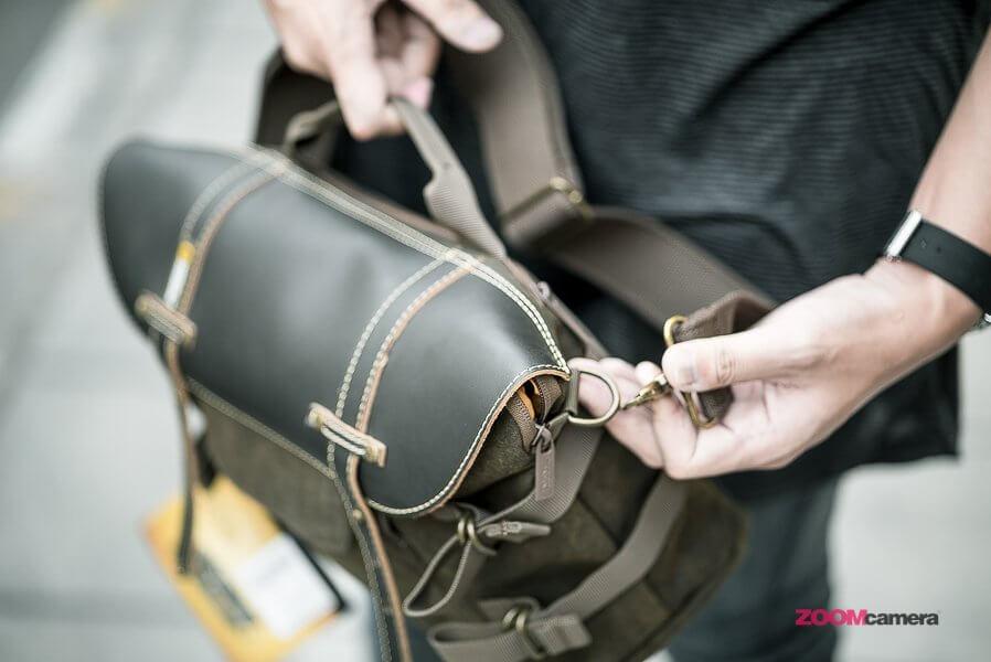 Review NG A2140 Camera Bag Zoomcamera 29