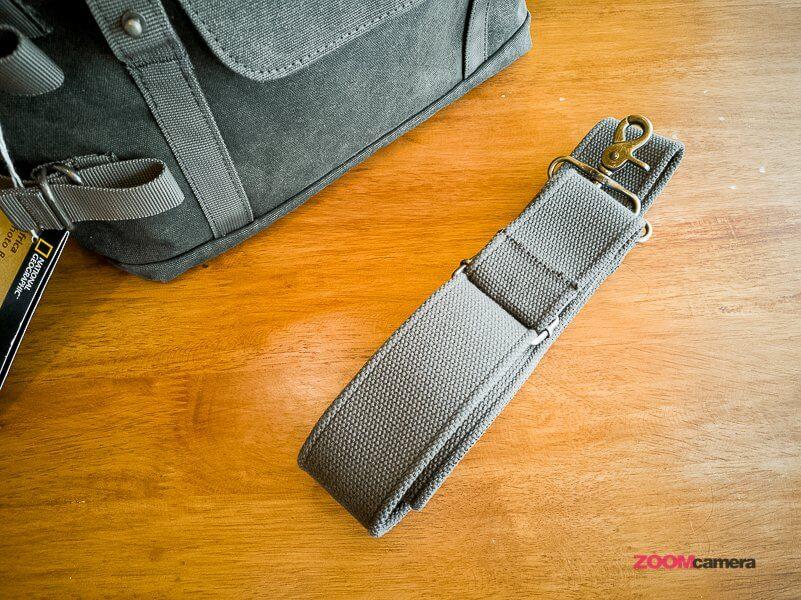 Review NG A2140 Camera Bag Zoomcamera 7