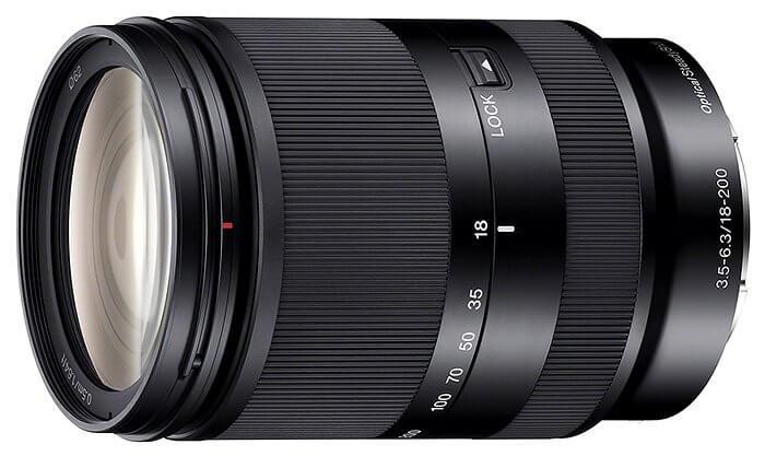 Sony SEL18 200mm