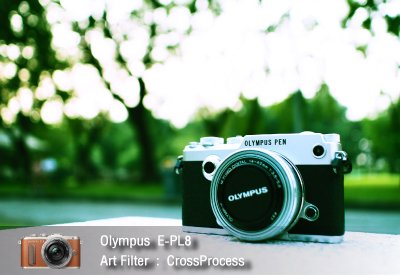 Tutorial review Olympus epl8 art filter crossprocess zoomcamera 2