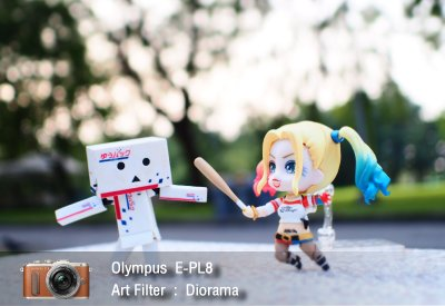 Tutorial review Olympus epl8 art filter diorama zoomcamera 0
