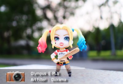 Tutorial review Olympus epl8 art filter diorama zoomcamera 1