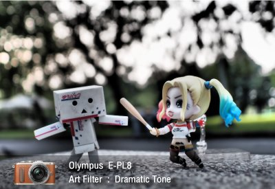 Tutorial review Olympus epl8 art filter dramatictone zoomcamera 0