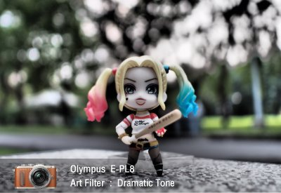 Tutorial review Olympus epl8 art filter dramatictone zoomcamera 1