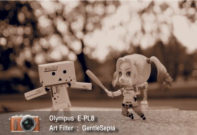 Tutorial review Olympus epl8 art filter gentlesepia zoomcamera 0