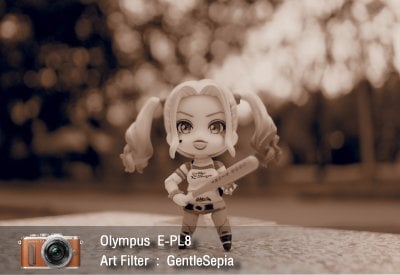Tutorial review Olympus epl8 art filter gentlesepia zoomcamera 1