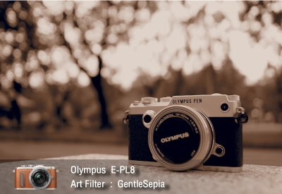 Tutorial review Olympus epl8 art filter gentlesepia zoomcamera 2