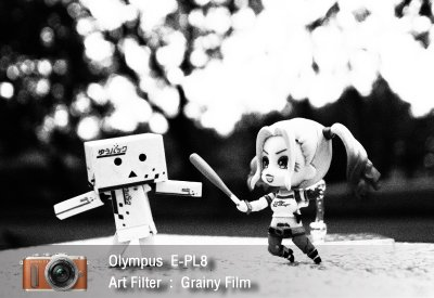 Tutorial review Olympus epl8 art filter grainy film zoomcamera 0