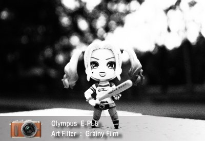 Tutorial review Olympus epl8 art filter grainy film zoomcamera 1