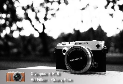 Tutorial review Olympus epl8 art filter grainy film zoomcamera 2