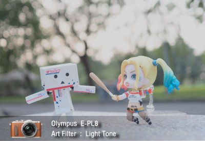 Tutorial review Olympus epl8 art filter lighttone zoomcamera 0
