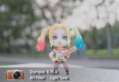 Tutorial review Olympus epl8 art filter lighttone zoomcamera 1