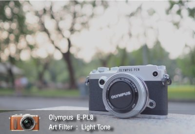 Tutorial review Olympus epl8 art filter lighttone zoomcamera 2