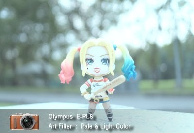 Tutorial review Olympus epl8 art filter pale light zoomcamera 1