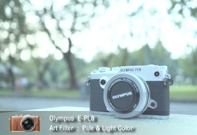 Tutorial review Olympus epl8 art filter pale light zoomcamera 2