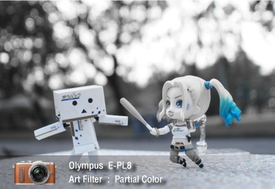 Tutorial review Olympus epl8 art filter partial color zoomcamera 0
