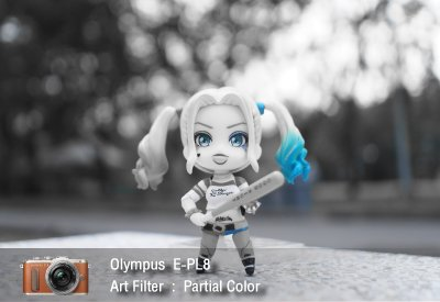 Tutorial review Olympus epl8 art filter partial color zoomcamera 1