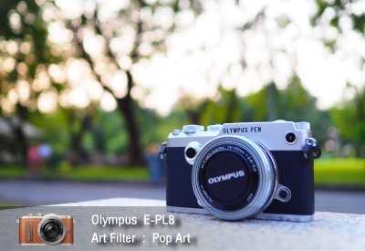 Tutorial review Olympus epl8 art filter popart zoomcamera 2