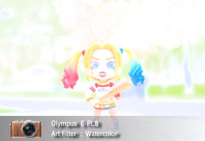 Tutorial review Olympus epl8 art filter watercolor zoomcamera 1