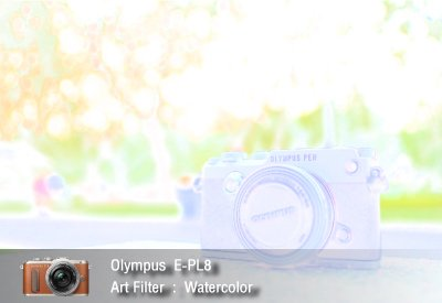 Tutorial review Olympus epl8 art filter watercolor zoomcamera 2