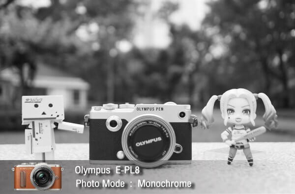 Tutorial review Olympus epl8 photomode monochrome zoomcamera 0