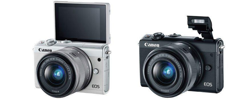 canon eos m100 black white