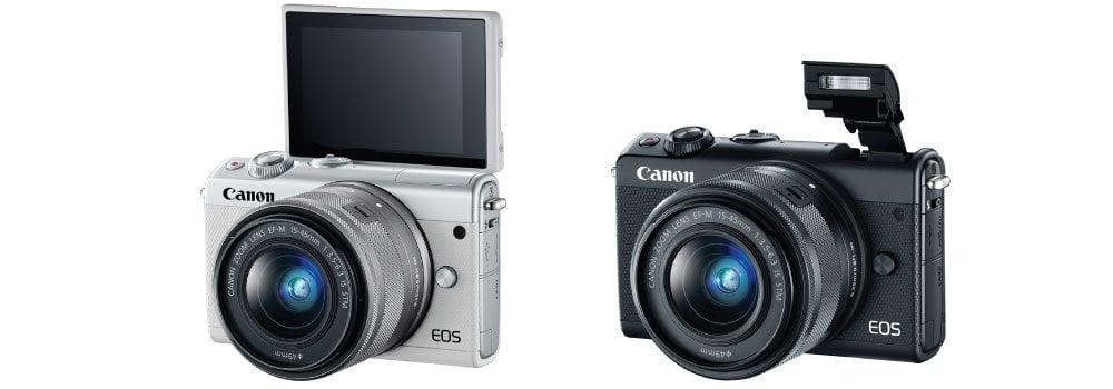 Official : Canon เปิดตัว EOS M100 กล้อง Mirrorless รุ่นเล็กมาพร้อม Dual PIxel AF + จอทัช