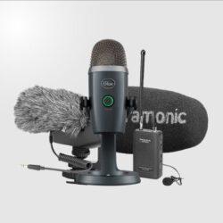 อุปกรณ์วีดีโอ ไมโครโฟน และหูฟัง - Video & Mics & Headphone